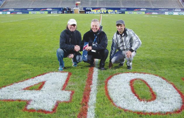 Zoom le personnel du stade gilbert brutus l 39 honneur - Piscine gilbert brutus perpignan ...
