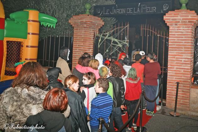 Halloween 2015 le jardin de la peur attire plus de for Le jardin catalan