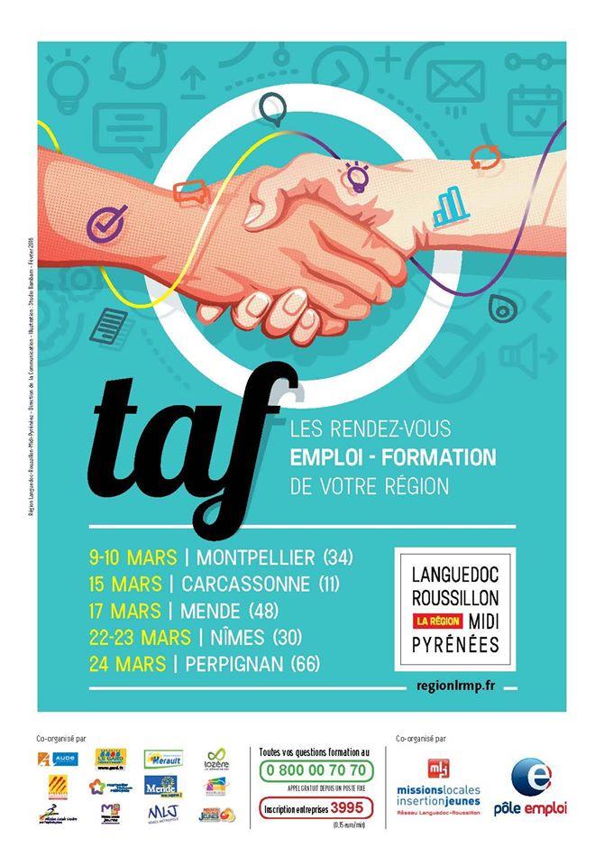 Salon taf perpignan le journal catalan for Salon du taf carcassonne