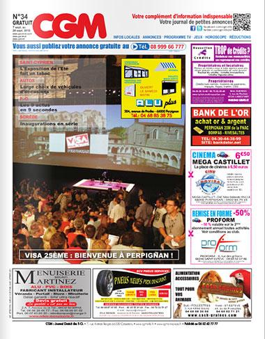 CGM Journal d'information et d'annonces gratuites des P-O