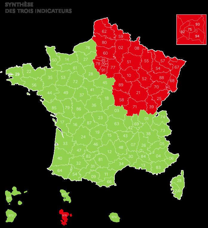 Carte-France-déconfinement-Pyrénées-Orientales